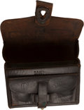 Arms Accessories:Tools, Very Fine, Rare Early Civil War Spencer Carbine Cartridge Box....