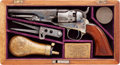 Military & Patriotic:Civil War, Cased Colt Model 1862 Police .36 Caliber Percussion Pistol Inscribed to Captain Wm G. Steel Co. K 20th Penna Militia....