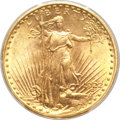 Saint-Gaudens Double Eagles, 1922-S $20 MS64+ PCGS....