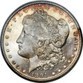 Morgan Dollars, 1891-CC $1 MS65 Prooflike PCGS....