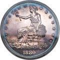 Proof Trade Dollars, 1880 T$1 PR64+ PCGS. CAC....