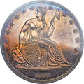 Gobrecht Dollars, 1839 P$1 Name Omitted, Judd-104 Restrike, Pollock-116, R.3, PR64PCGS....