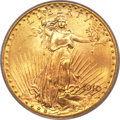 Saint-Gaudens Double Eagles, 1910 $20 MS65 PCGS Secure....