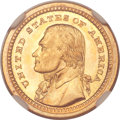Commemorative Gold, 1903 G$1 Louisiana Purchase/Jefferson MS67+ NGC. CAC....