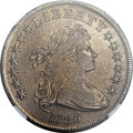 Early Dollars, 1798 $1 Large Eagle, Pointed 9 XF45 NGC. B-26, BB-114, R.5....