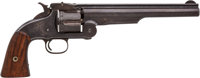 Commercial Smith & Wesson Old, Old Model 3 Russian First Model Single Action Revolver