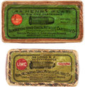 Ammunition, Lot of Two Boxes of Antique Ammunition.... (Total: 2 Items)