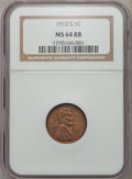 Lincoln Cents: , 1912-S 1C MS64 Red and Brown NGC. NGC Census: (95/35). PCGSPopulation (195/29). Mintage: 4,431,000. Numismedia Wsl. Price ...