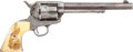 Handguns:Single Action Revolver, Colt Frontier Six-Shooter....