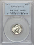 Mercury Dimes: , 1936 10C MS67 Full Bands PCGS. PCGS Population (180/14). NGCCensus: (72/4). Mintage: 87,504,128. Numismedia Wsl. Price for...