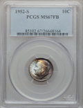Roosevelt Dimes: , 1952-S 10C MS67 Full Bands PCGS. PCGS Population (29/1). NGCCensus: (47/1). Mintage: 44,419,500. Numismedia Wsl. Price for...