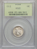 Barber Dimes: , 1912 10C MS65 PCGS. PCGS Population (142/48). NGC Census: (153/39). Mintage: 19,350,000. Numismedia Wsl. Price for problem ...