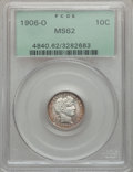 Barber Dimes: , 1906-O 10C MS62 PCGS. PCGS Population (7/130). NGC Census: (16/93).Mintage: 2,610,000. Numismedia Wsl. Price for problem f...
