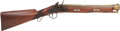 Long Guns:Muzzle loading, English Flintlock Brass-Barreled Blunderbuss by T. Bolton & Co. London....