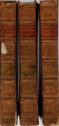 Books:Business & Economics, Adam Smith. An Inquiry into the Nature and Causes of the Wealthof Nations. Vol. I-III. Edinburgh: Doig and Stir... (Total: 3Items)
