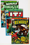Bronze Age (1970-1979):Horror, Marvel Bronze Age Horror Comics Group (Marvel, 1970s) Condition:Average VF+.... (Total: 47 Comic Books)
