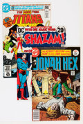 Bronze Age (1970-1979):Miscellaneous, DC Bronze and Modern Age First Issues Group (DC, 1970s-'80s)Condition: Average VF.... (Total: 16 Comic Books)