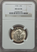 Standing Liberty Quarters: , 1930 25C MS64 Full Head NGC. NGC Census: (783/645). PCGS Population(911/980). Mintage: 5,632,000. Numismedia Wsl. Price fo...