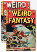 Golden Age (1938-1955):Science Fiction, Weird Fantasy #14/Weird Science #12 Group (EC, 1952).... (Total: 2Comic Books)