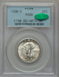 Standing Liberty Quarters: , 1930-S 25C MS66 PCGS. CAC. PCGS Population (105/22). NGC Census:(43/18). Mintage: 1,556,000. Numismedia Wsl. Price for pro...