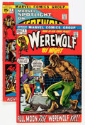 Bronze Age (1970-1979):Horror, Werewolf by Night #1/Marvel Spotlight #2 Group (Marvel, 1972)....(Total: 2 Comic Books)