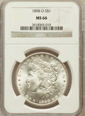 Morgan Dollars: , 1898-O $1 MS66 NGC. NGC Census: (1872/174). PCGS Population(1873/159). Mintage: 4,440,000. Numismedia Wsl. Price for probl...