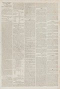 Miscellaneous, War of 1812 Newspapers....