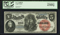 Large Size:Legal Tender Notes, Fr. 73 $5 1880 Legal Tender PCGS Superb Gem New 67PPQ.. ...