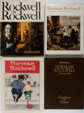 Books:Art & Architecture, Norman Rockwell [subject]. Group of Four Books. Various publishers. Publisher's binding and three in dj. Very good or better... (Total: 4 Items)