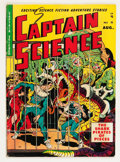 Golden Age (1938-1955):Science Fiction, Captain Science #5 (Youthful Magazines, 1951) Condition: VG....