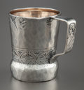 Silver Holloware, American:Child's Cups, A GEORGE W. SHIEBLER ETRUSCAN PATTERN SILVER CUP. George W.Shiebler & Co., New York, New York, circa 1880. Mark...