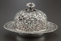 Silver Holloware, American:Other , A BALTIMORE STERLING SILVER CO. SILVER COVERED BUTTER DISH .Baltimore Sterling Silver Co., Baltimore, Maryland, circa 1895...