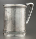 Silver Holloware, American:Cups, A TIFFANY & CO. SILVER CUP . Tiffany & Co., New York, NewYork, circa 1865-1870. Marks: TIFFANY & CO., STERLING, 2205,466...