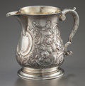 Silver Holloware, British:Holloware, A THOMAS WHIPHAM GEORGE II SILVER AND SILVER GILT CREAMER. ThomasWhipham, London, England, circa 1752-1753. Marks: (lion pa...
