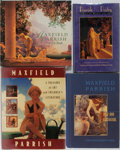 Books:Photography, Maxfield Parrish [subject]. Group of Four Related Books. Various editions and publishers, 1990-1995. Publisher's binding and... (Total: 4 Items)