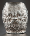 Silver Holloware, American:Pitchers, A GORHAM SILVER REPOUSSÉ WATER PITCHER . Gorham Manufacturing Co.,Providence, Rhode Island, circa 1887. Marks: (lion-anchor...