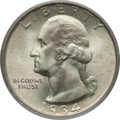 Washington Quarters: , 1934 25C Medium Motto MS67 PCGS. PCGS Population (78/1). NGCCensus: (57/0). Mintage: 31,912,052. Numismedia Wsl. Price for...
