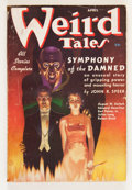 Pulps:Horror, Weird Tales - April '37 (Popular Fiction, 1937) Condition: VG/FN....