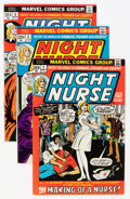 Bronze Age (1970-1979):Adventure, Night Nurse #1-4 Group (Marvel, 1972-73) Condition: Average FN+.... (Total: 5 Comic Books)