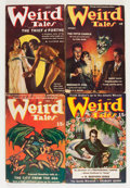 Pulps:Horror, Weird Tales Group (Popular Fiction, 1937-52) Condition: Average VG/FN.... (Total: 9 Items)