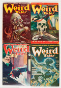 Pulps:Horror, Weird Tales Group (Popular Fiction, 1941-52) Condition: AverageVG/FN.... (Total: 8 Items)