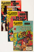 Golden Age (1938-1955):Classics Illustrated, Classics Illustrated First Editions Group (Gilberton, 1949-51)Condition: Average GD+.... (Total: 20 Comic Books)