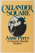 Books:Mystery & Detective Fiction, Anne Perry. Callander Square. St. Martins, 1980. Firstedition, first printing. Publisher's binding with mild shelfw...