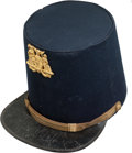 Militaria:Uniforms, Exceptional New York State Officer's M1851 Shako. ...