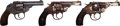 Handguns:Double Action Revolver, Lot of Three Boxed Iver Johnson Top Break Double Action Revolvers.... (Total: 3 Items)