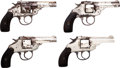 Handguns:Double Action Revolver, Lot of Four Boxed Top Break Revolvers.... (Total: 4 Items)