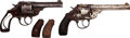 Handguns:Double Action Revolver, Lot of Two Boxed Iver Johnson Double Action Revolvers.... (Total: 2 Items)