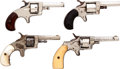 Handguns:Single Action Revolver, Lot of Four Boxed Single Action Revolvers.... (Total: 4 Items)