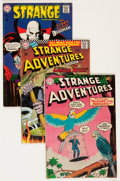 Silver Age (1956-1969):Science Fiction, Strange Adventures Group (DC, 1955-69) Condition: Average VG....(Total: 22 Comic Books)