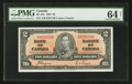 Canadian Currency: , BC-22c $2 1937.. ...
